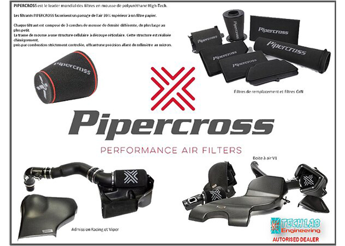 Filtre a air Pipercross à Jaunay-Clan